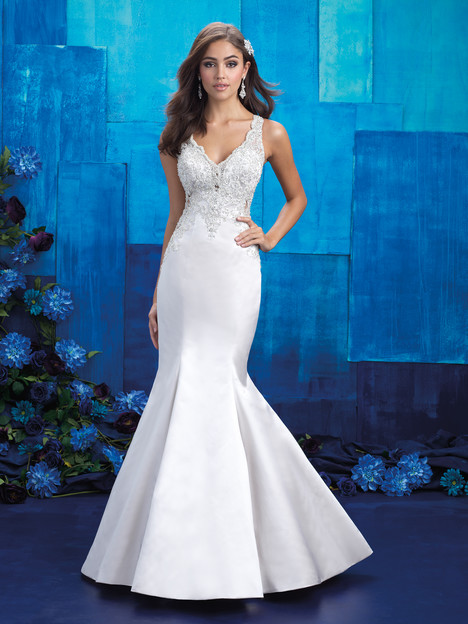 9402 gown from the 2017 Allure Bridals collection, as seen on dressfinder.ca