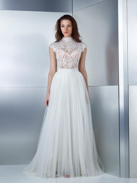 W13-3239B + W15-3759LS Wedding                                          dress by Gemy Maalouf