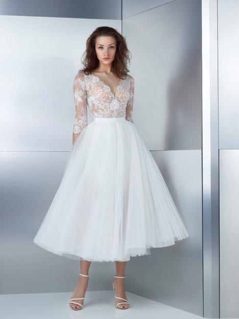 W17-4739B + W17-4789LS Wedding                                          dress by Gemy Maalouf
