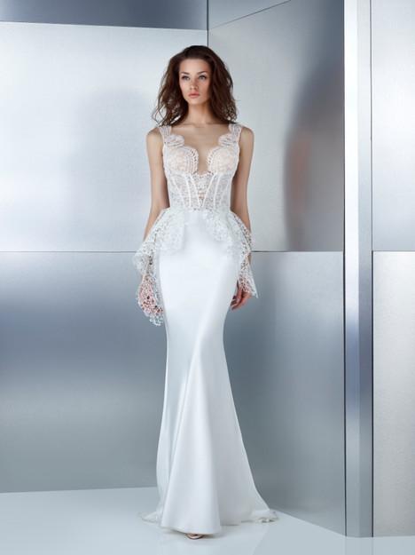 W17-4743T + 3042LS Wedding                                          dress by Gemy Maalouf