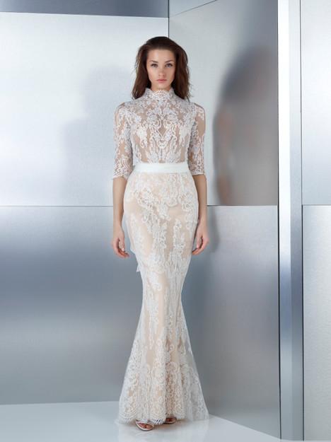 W17-4793B + 4833LS + 4833 (belt) Wedding                                          dress by Gemy Maalouf