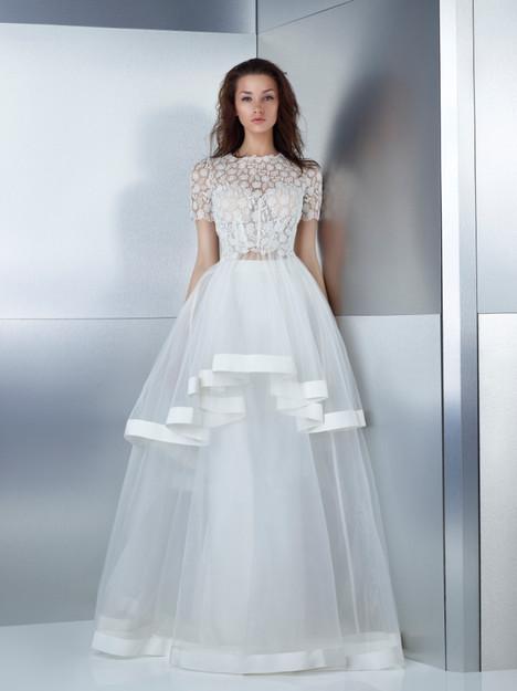 W17-4795T + 4795LS Wedding                                          dress by Gemy Maalouf