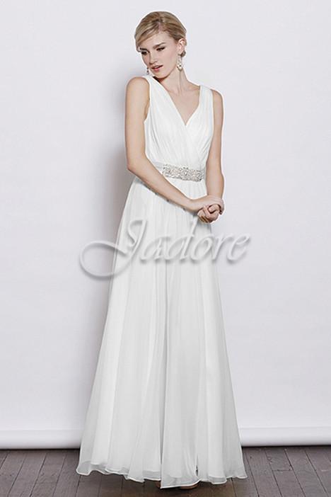 J3040 (ivory) Prom                                             dress by Jadore Evening