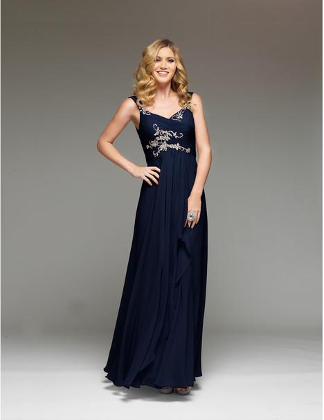 J2038 (navy) Prom                                             dress by Jadore Evening