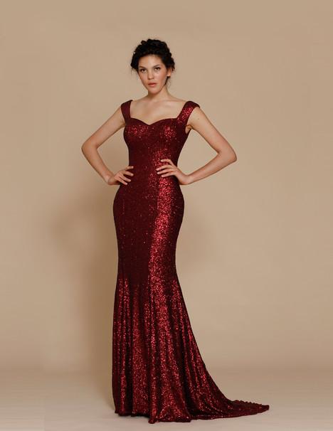 J2067 (wine) Prom                                             dress by Jadore Evening