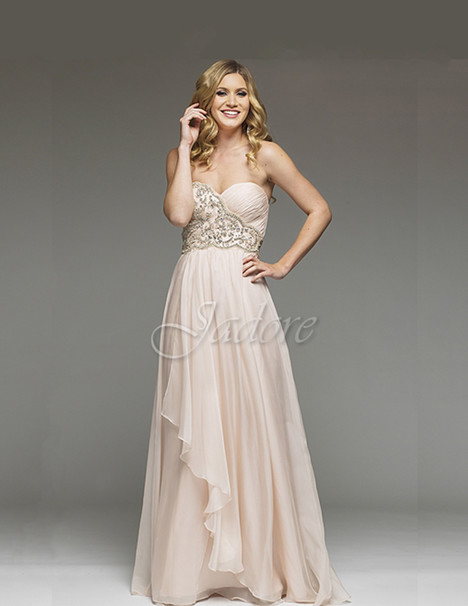 J3020 (pink) Prom                                             dress by Jadore Evening