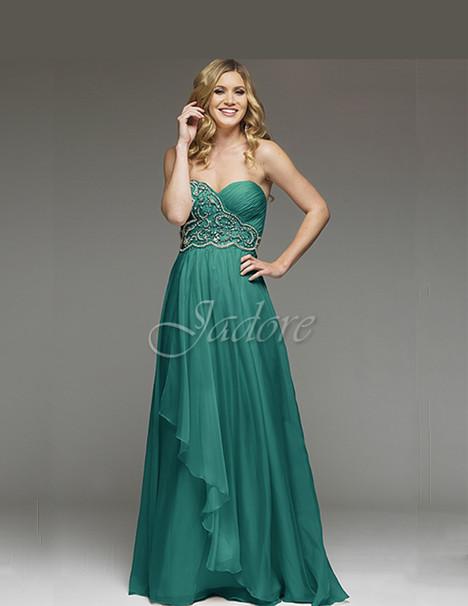 J3020 (teal) Prom                                             dress by Jadore Evening