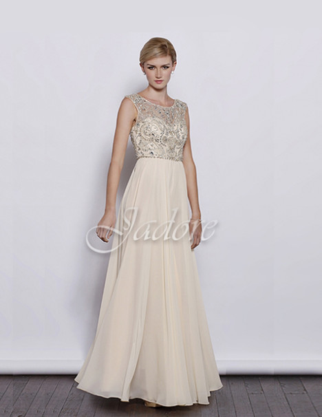 J3035 (cream) Prom                                             dress by Jadore Evening