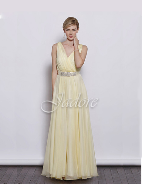 J3040 (lemon) gown from the 2017 Jadore Evening collection, as seen on dressfinder.ca