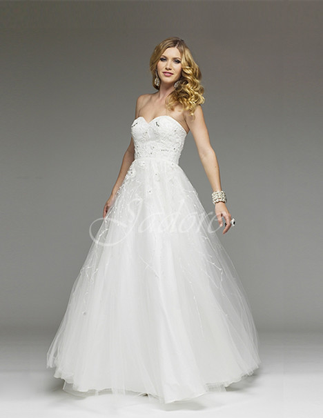 J4011 (ivory) Prom                                             dress by Jadore Evening