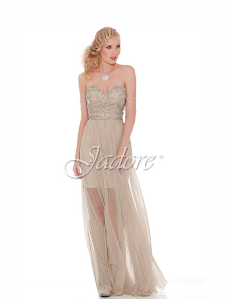 J6050 (oyster) gown from the 2017 Jadore Evening collection, as seen on dressfinder.ca