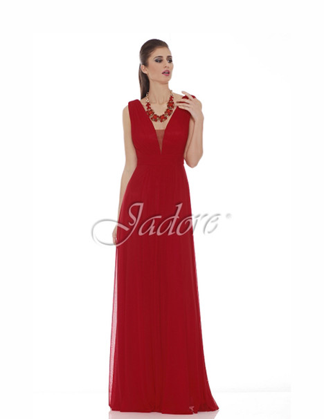J6074 (red) gown from the 2017 Jadore Evening collection, as seen on dressfinder.ca