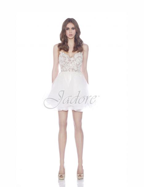 J7011 (ivory) Prom                                             dress by Jadore Evening