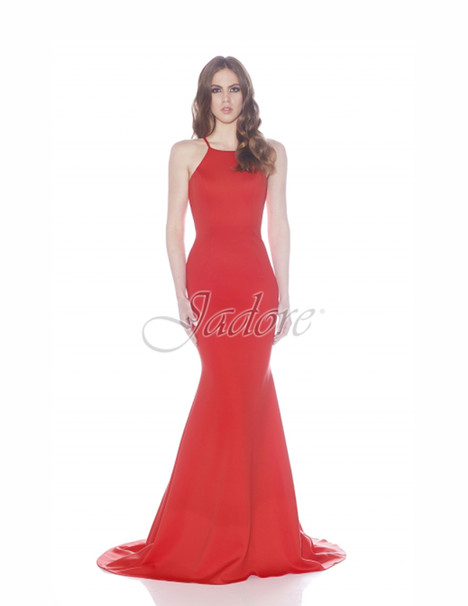 J7036 (flame) gown from the 2017 Jadore Evening collection, as seen on dressfinder.ca