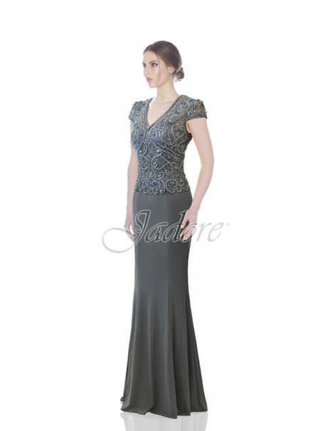 J7058 (gunmetal) gown from the 2017 Jadore Evening collection, as seen on dressfinder.ca