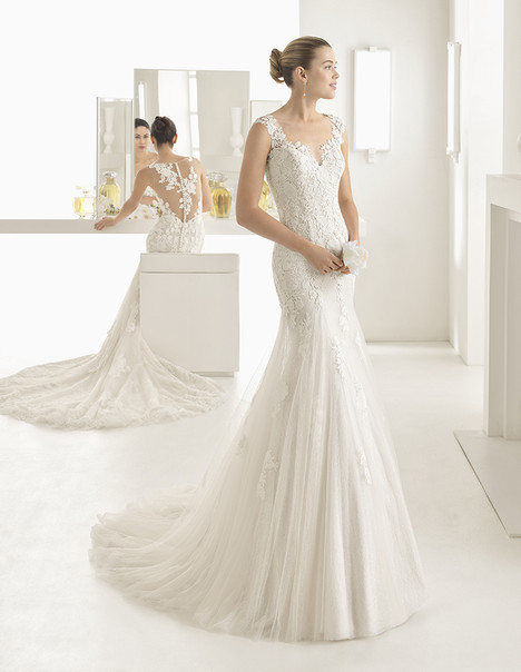 Oblicuo (1A103) Wedding                                          dress by Rosa Clara