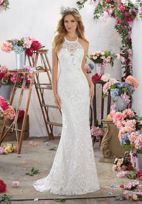 6851 Wedding                                          dress by Mori Lee: Voyage