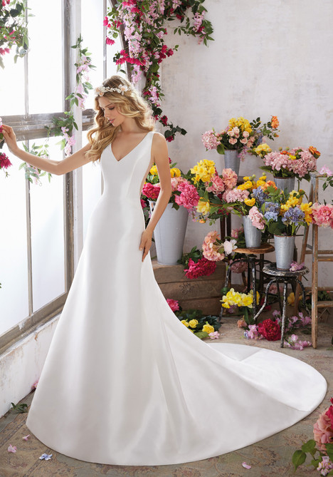 6852 Wedding                                          dress by Mori Lee: Voyage
