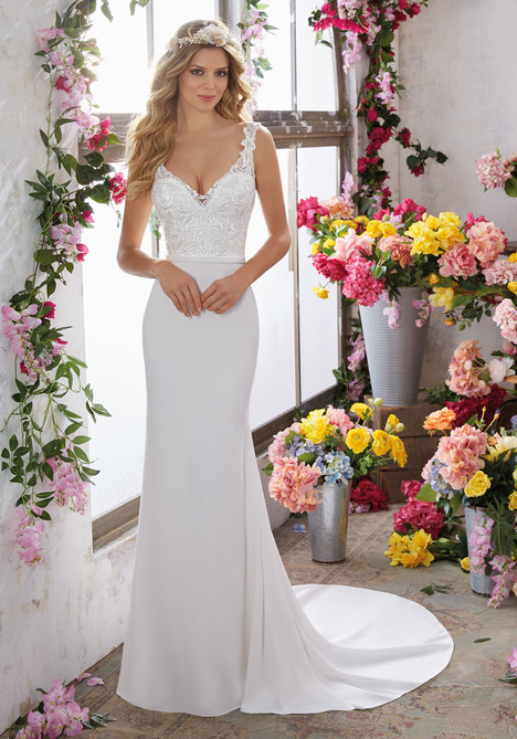 6853 Wedding                                          dress by Mori Lee: Voyage