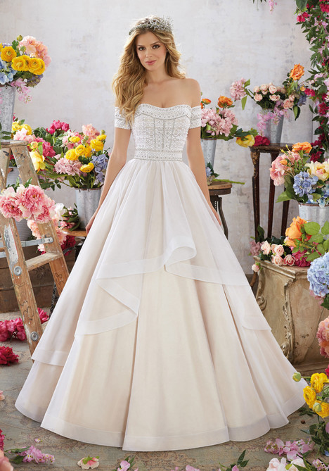 6854 Wedding                                          dress by Mori Lee: Voyage