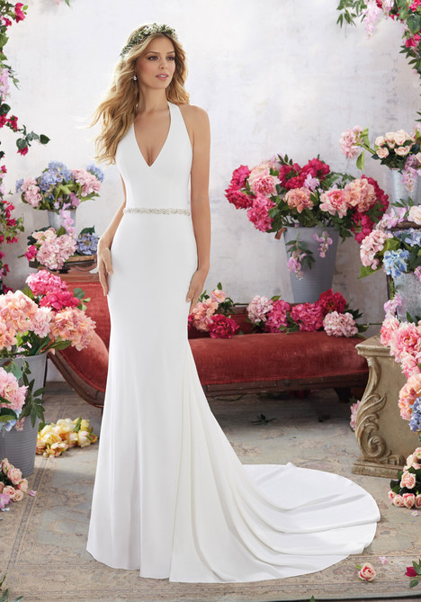 6855 Wedding                                          dress by Mori Lee: Voyage