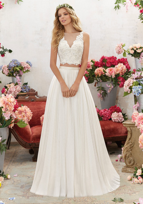 6856 Wedding                                          dress by Mori Lee: Voyage
