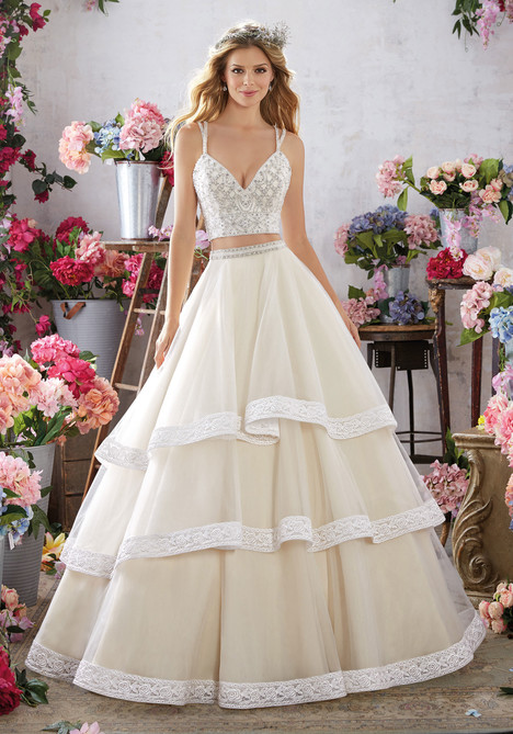 6859 Wedding                                          dress by Mori Lee: Voyage