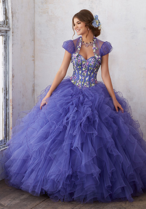89121 (blueberry) Prom                                             dress by Mori Lee : Vizcaya