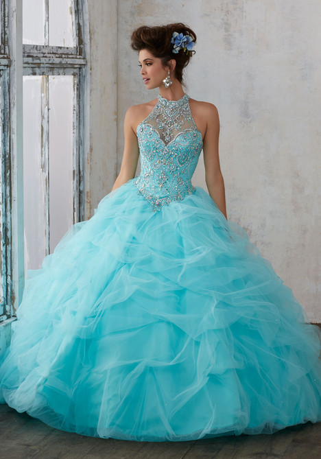 89122 (aqua) Prom                                             dress by Mori Lee : Vizcaya