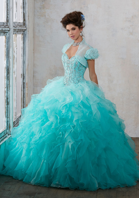 89123 (light aqua + mint) Prom                                             dress by Mori Lee : Vizcaya