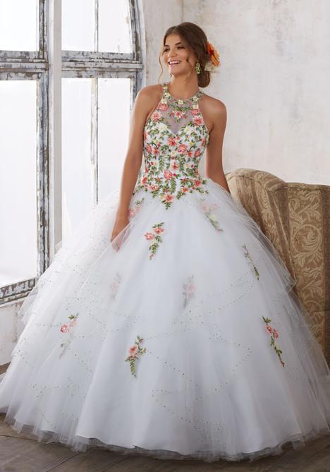 89124 (floral white) Prom                                             dress by Mori Lee : Vizcaya