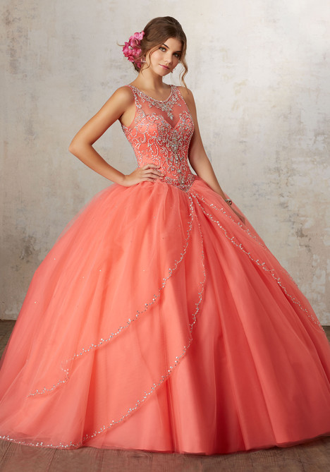 89127 (coral) Prom                                             dress by Mori Lee : Vizcaya