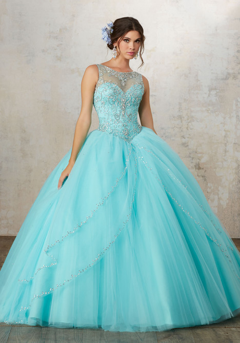89127 (aqua) Prom                                             dress by Mori Lee : Vizcaya