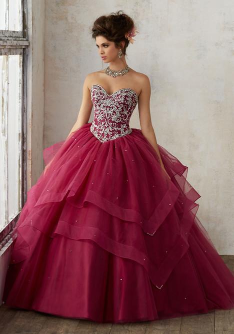 89128 (black cherry) Prom                                             dress by Mori Lee : Vizcaya