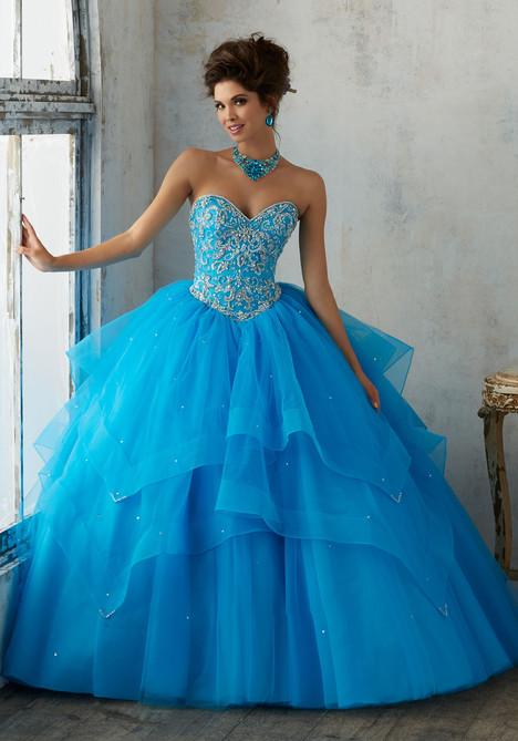 89128 (peacock) Prom                                             dress by Mori Lee : Vizcaya