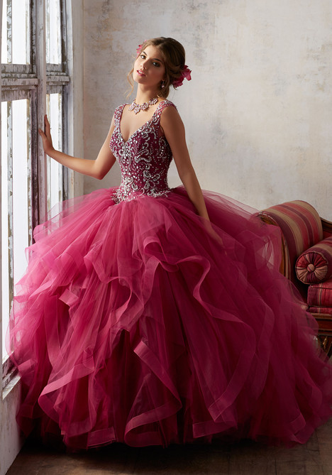 89131 (black cherry) Prom                                             dress by Mori Lee : Vizcaya