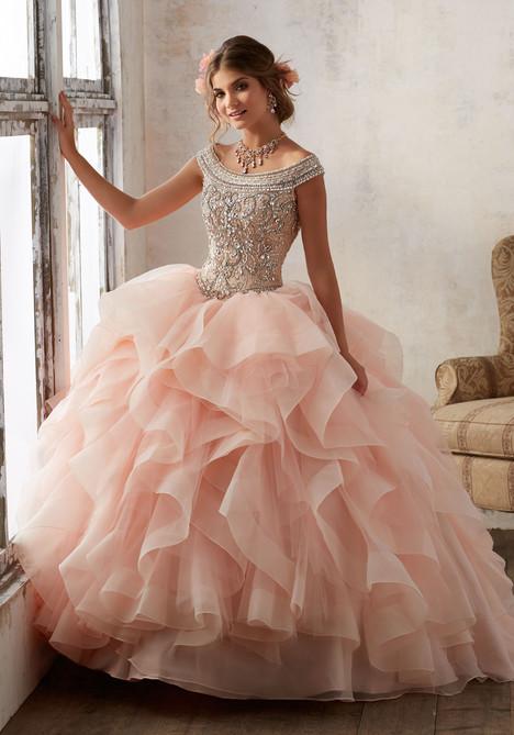 89138 (blush + nude) Prom                                             dress by Mori Lee : Vizcaya