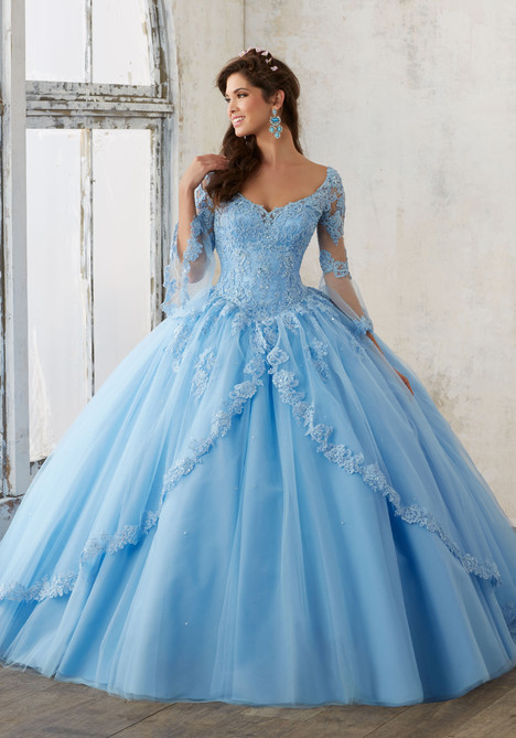 60015 (bahama blue) Prom                                             dress by Mori Lee : Valencia