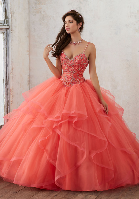 60017 (coral) Prom                                             dress by Mori Lee : Valencia