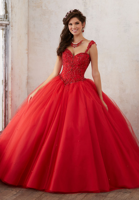 60018 (scarlet) Prom                                             dress by Mori Lee : Valencia