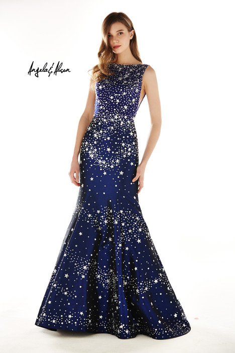 771058 (navy) Prom                                             dress by Angela & Alison Prom