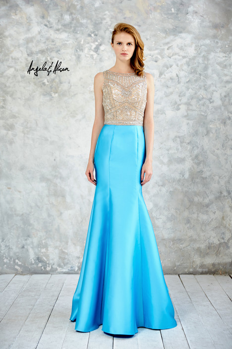 771070 (turquoise) gown from the 2017 Angela & Alison Prom collection, as seen on dressfinder.ca