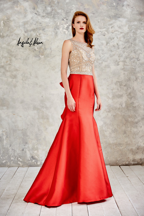 771070 (hot red) gown from the 2017 Angela & Alison Prom collection, as seen on dressfinder.ca