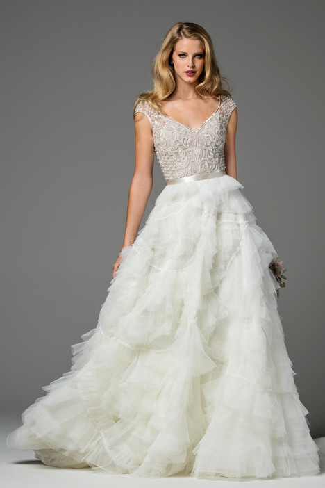 Ansel (skirt) (2082B) Wedding                                          dress by Watters Brides