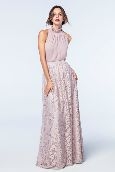 Devon (top) + Acacia (skirt) Bridesmaids                                      dress by Watters Bridesmaids