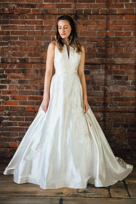 Chelsea Wedding                                          dress by Lea-Ann Belter