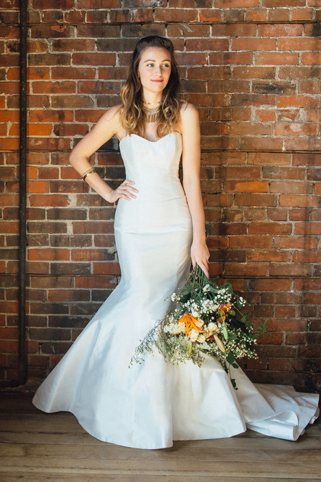 Marigold Wedding                                          dress by Lea-Ann Belter