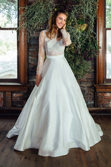 Fleur (skirt) Wedding                                          dress by Lea-Ann Belter