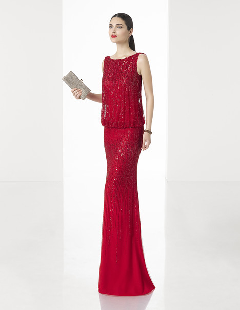 1T219 gown from the 2017 Rosa Clara: Cocktail collection, as seen on dressfinder.ca