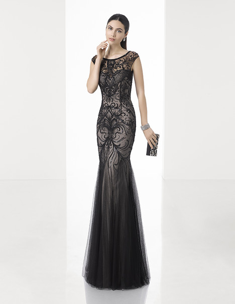 1T222 gown from the 2017 Rosa Clara: Cocktail collection, as seen on dressfinder.ca